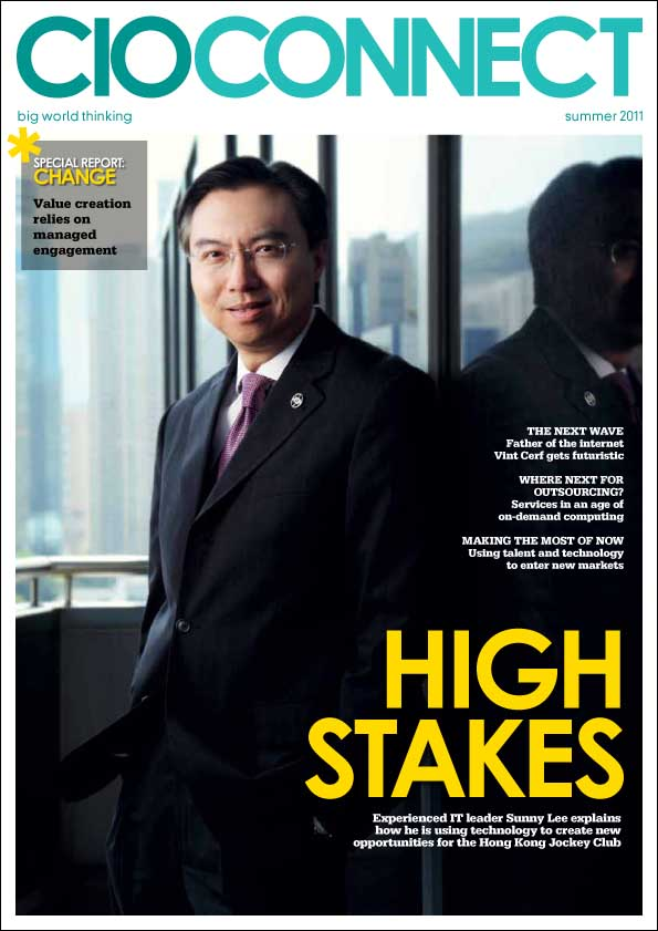 Summer 2011 cover of CIO Connect Magazine