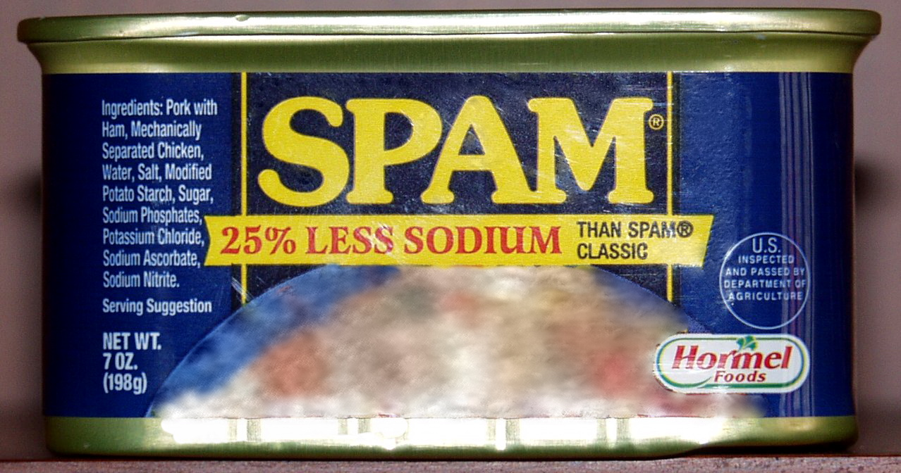 photo of can of spam