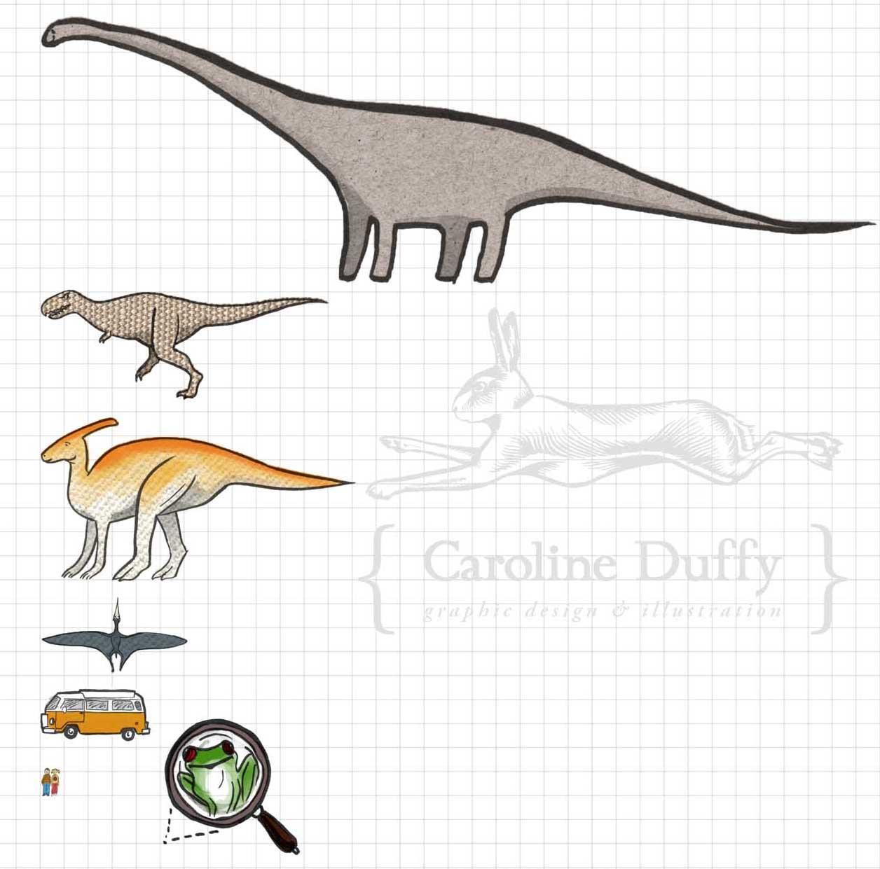 dinosaur size comparison chart