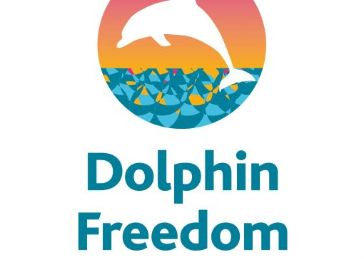 Logo for Dolphin Freedom UK