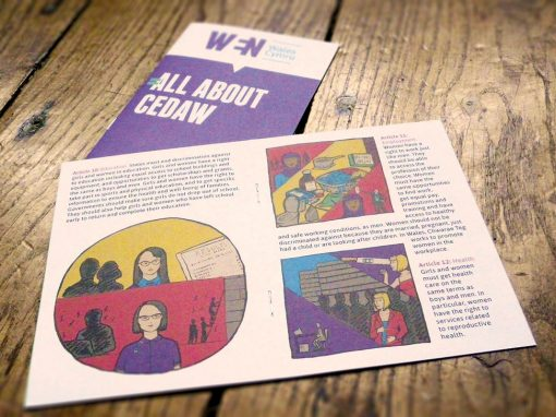 Booklet for Women's Equality Network
