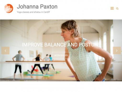 Johanna Paxton web design