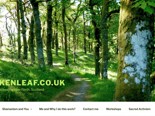 Oakenleaf website design