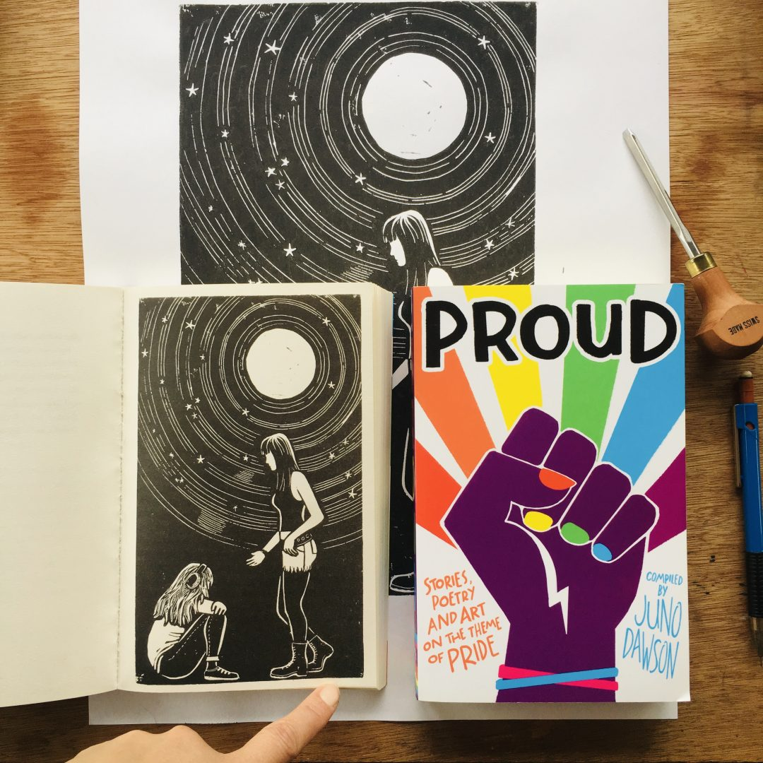 Illustration for Proud book