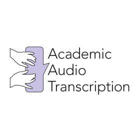 Logo design for Academic Audio Transcription