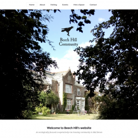 Beech Hill Devon wordpress website design