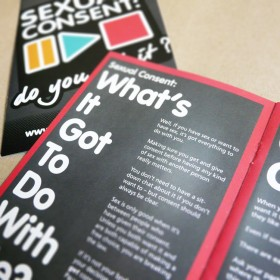 Sexual consent campaign branding