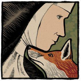Bridget and the fox