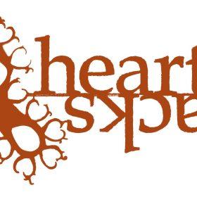 Heart Tracks logo design