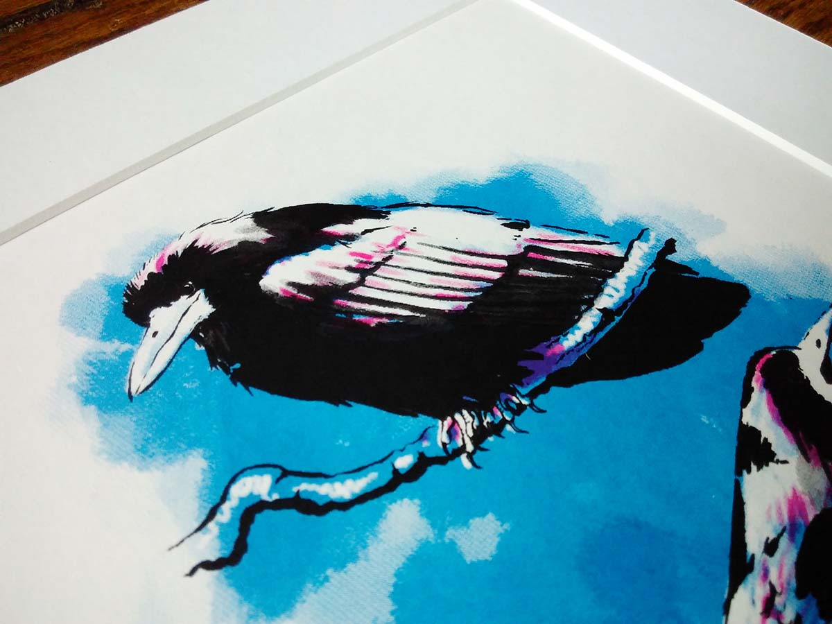 New rook screen print available!