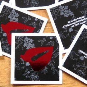 Demanding Women business cards
