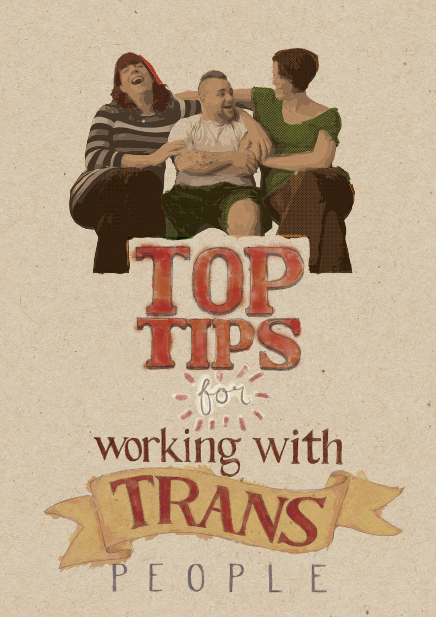 Top Tips for working with Trans People cover