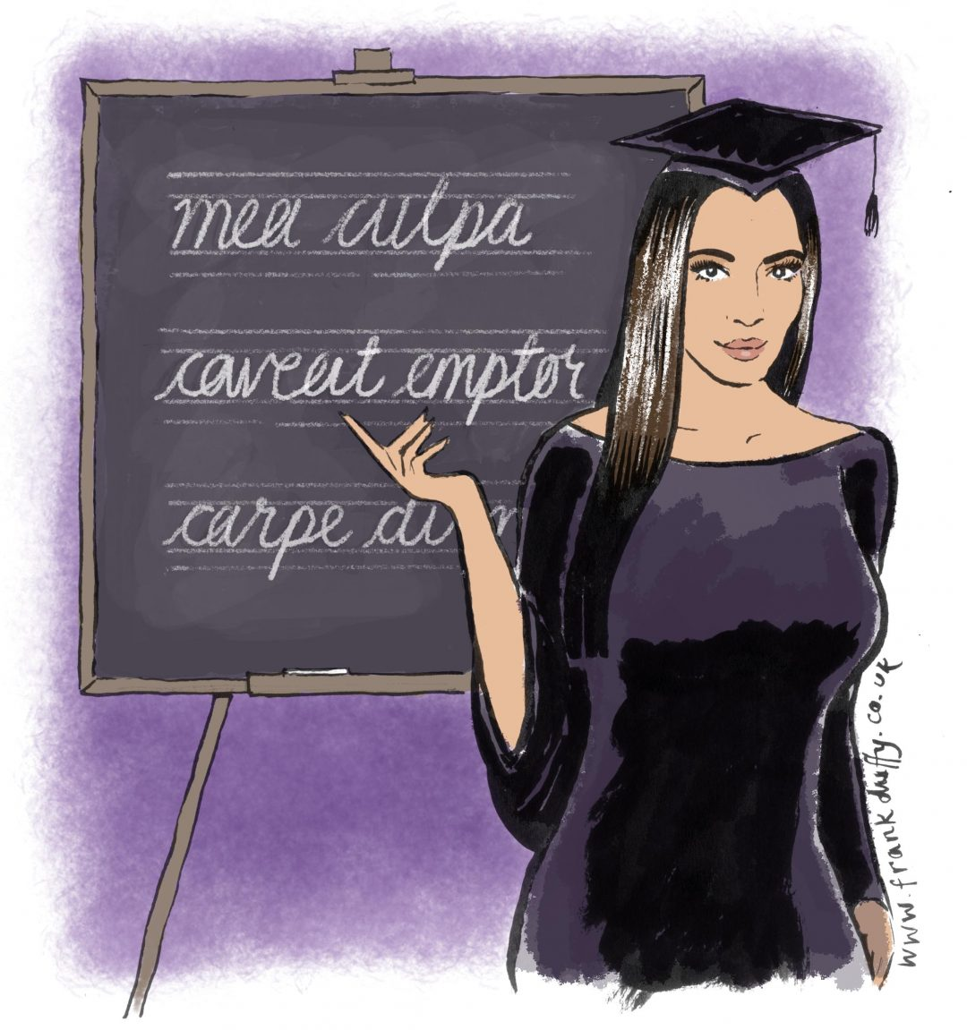 kim kardashian illustration exeter living magazine
