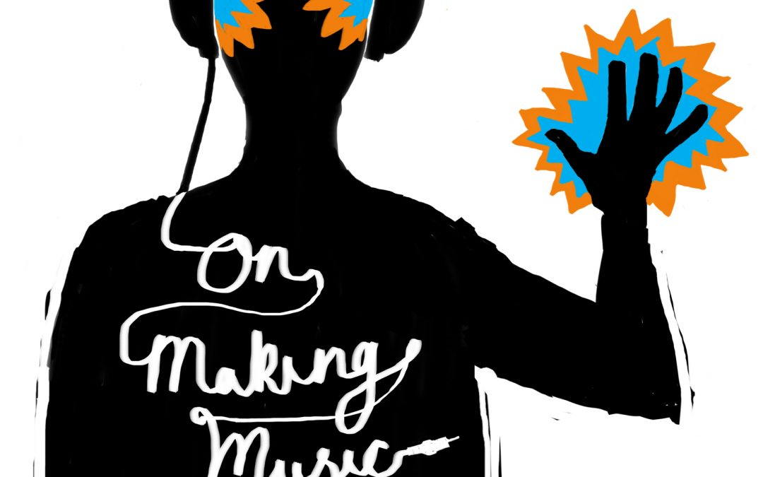 Making music logo / book cover