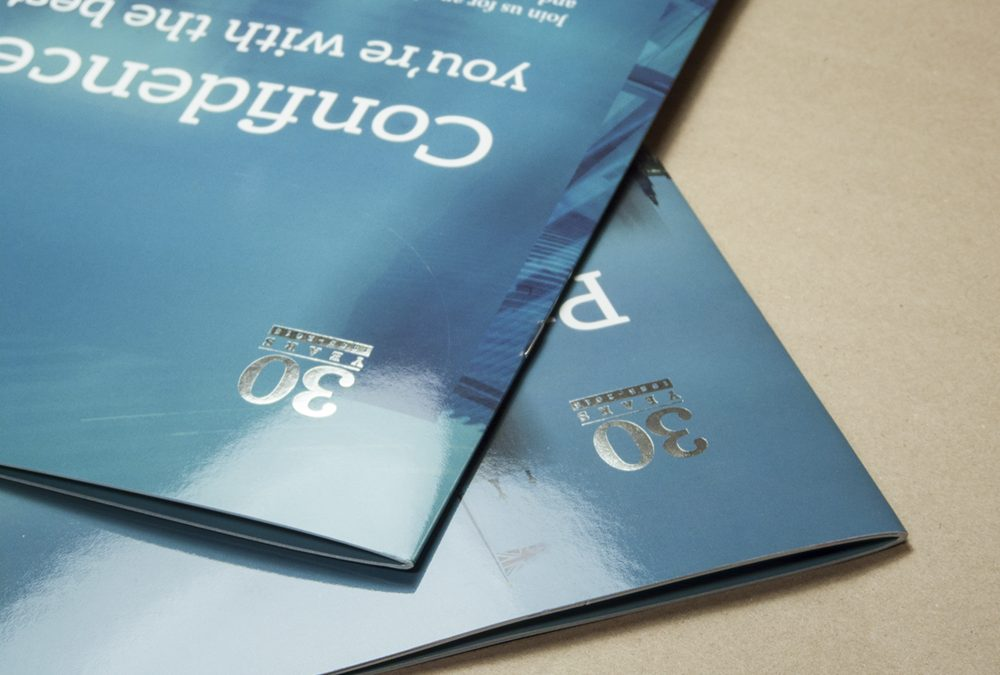 High-spec brochure for insurance firm
